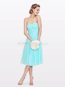 beach wedding theme bridesmaid dress
