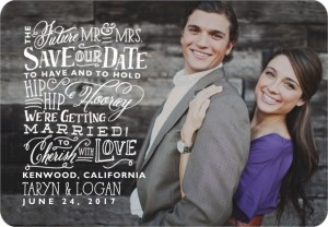 Whimsical Wedding Save The Dates